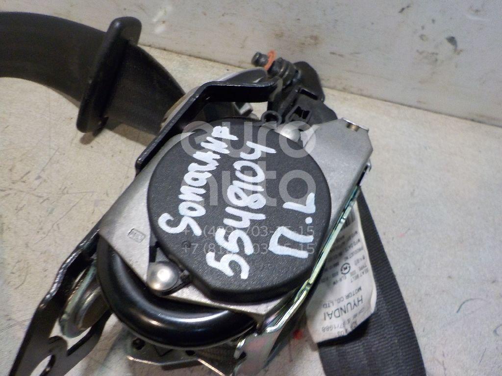 Ремень безопасности с пиропатроном для Hyundai Sonata V (NF) 2005-2010 - Фото №1