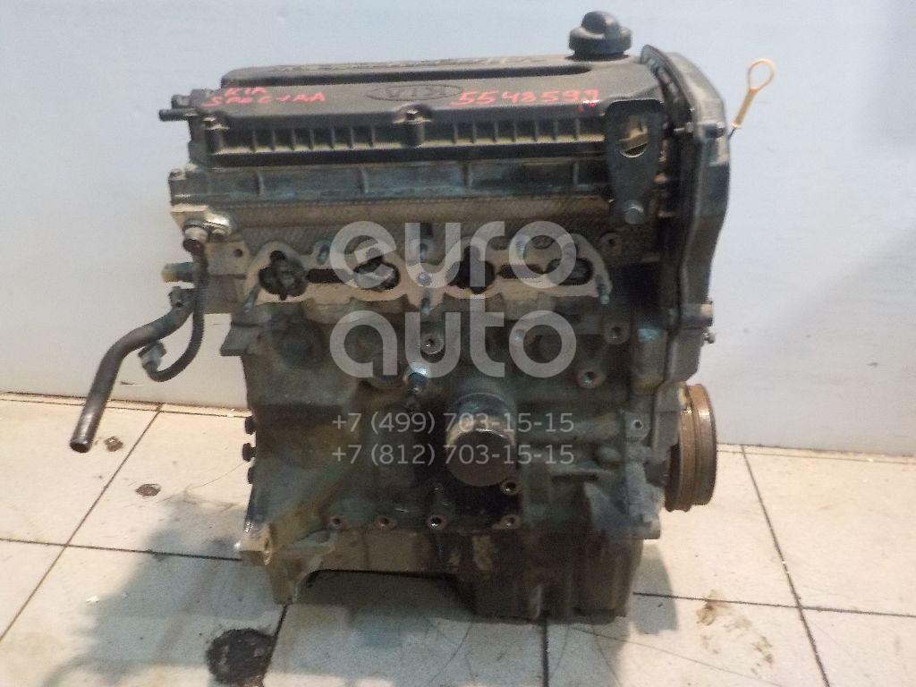 Двигатель для Kia Spectra 2001-2011;Sephia II/Shuma II 2001-2004 - Фото №1