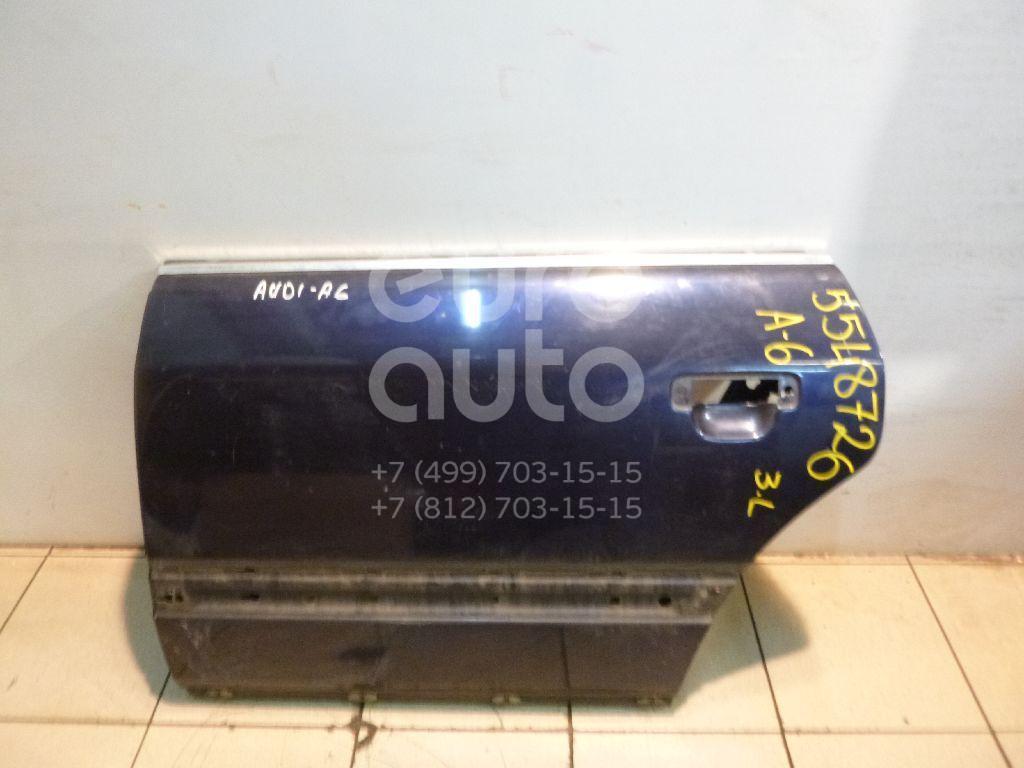 Дверь задняя левая для Audi A6 [C4] 1994-1997 - Фото №1