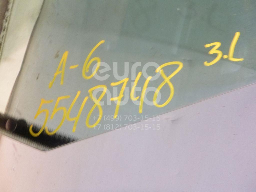 Стекло двери задней левой для Audi A6 [C4] 1994-1997;100 [C4] 1991-1994 - Фото №1