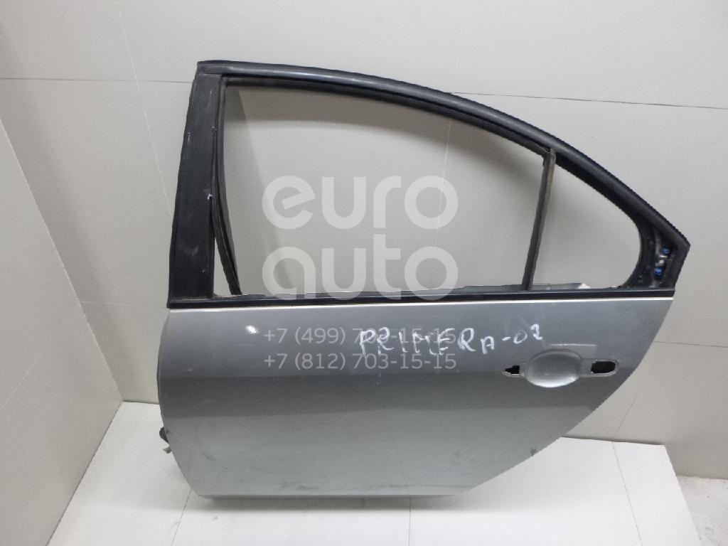 Дверь задняя левая для Nissan Primera P12E 2002-2007 - Фото №1