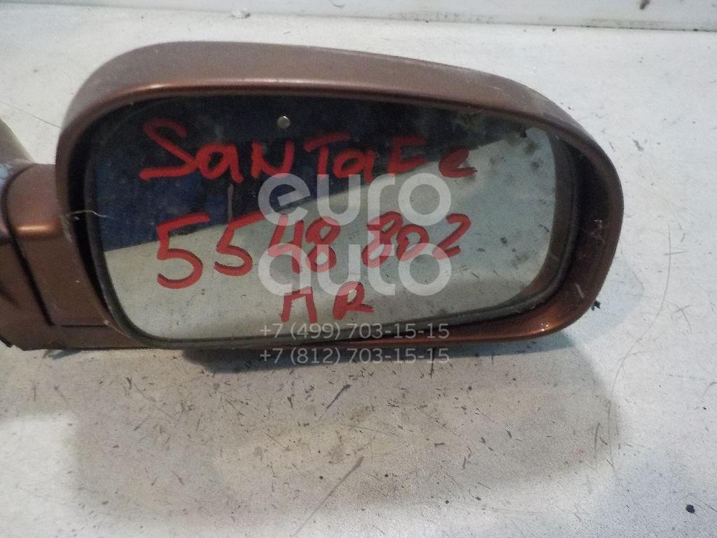 Зеркало правое электрическое для Hyundai Santa Fe (SM)/ Santa Fe Classic 2000-2012 - Фото №1