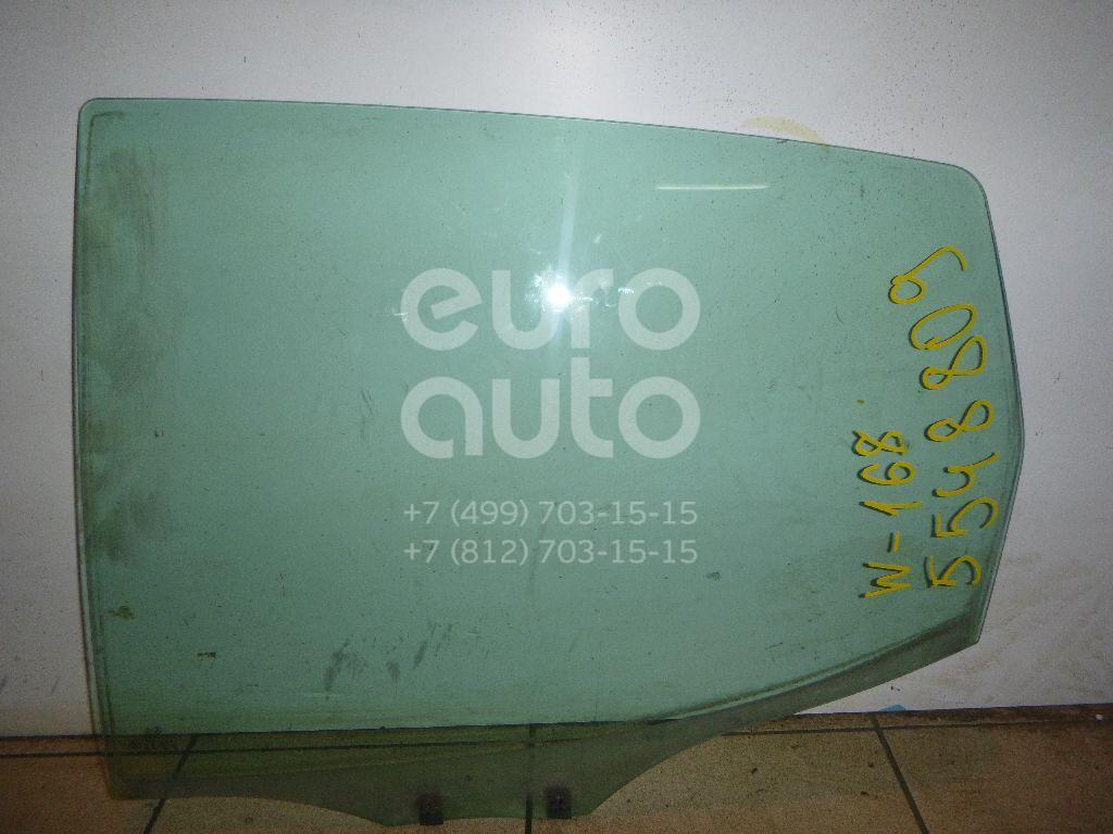 Стекло двери задней левой для Mercedes Benz A140/160 W168 1997-2004 - Фото №1