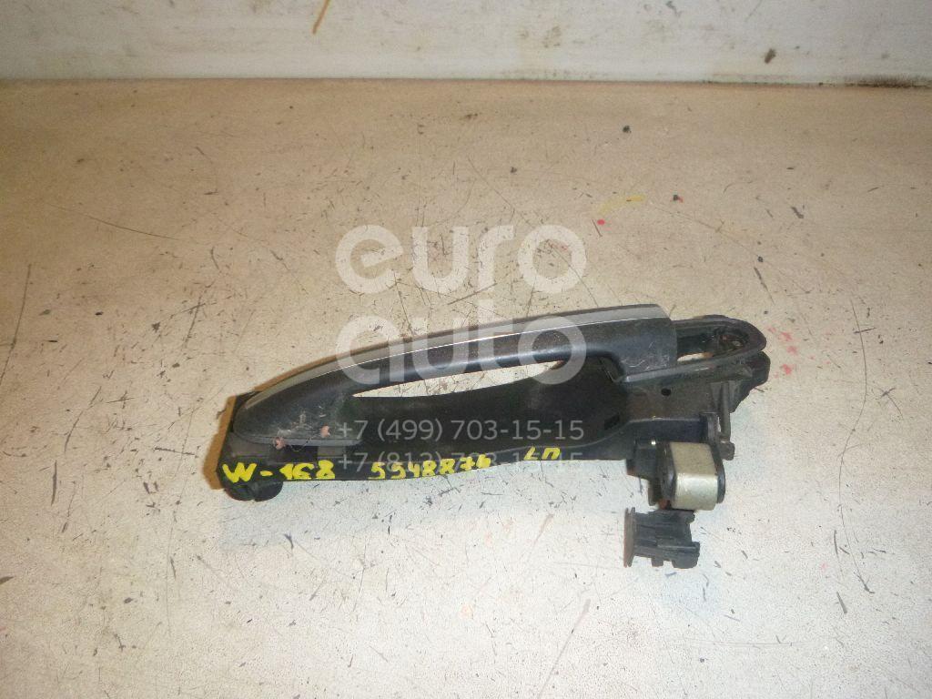 Ручка двери передней наружная левая для Mercedes Benz A140/160 W168 1997-2004 - Фото №1