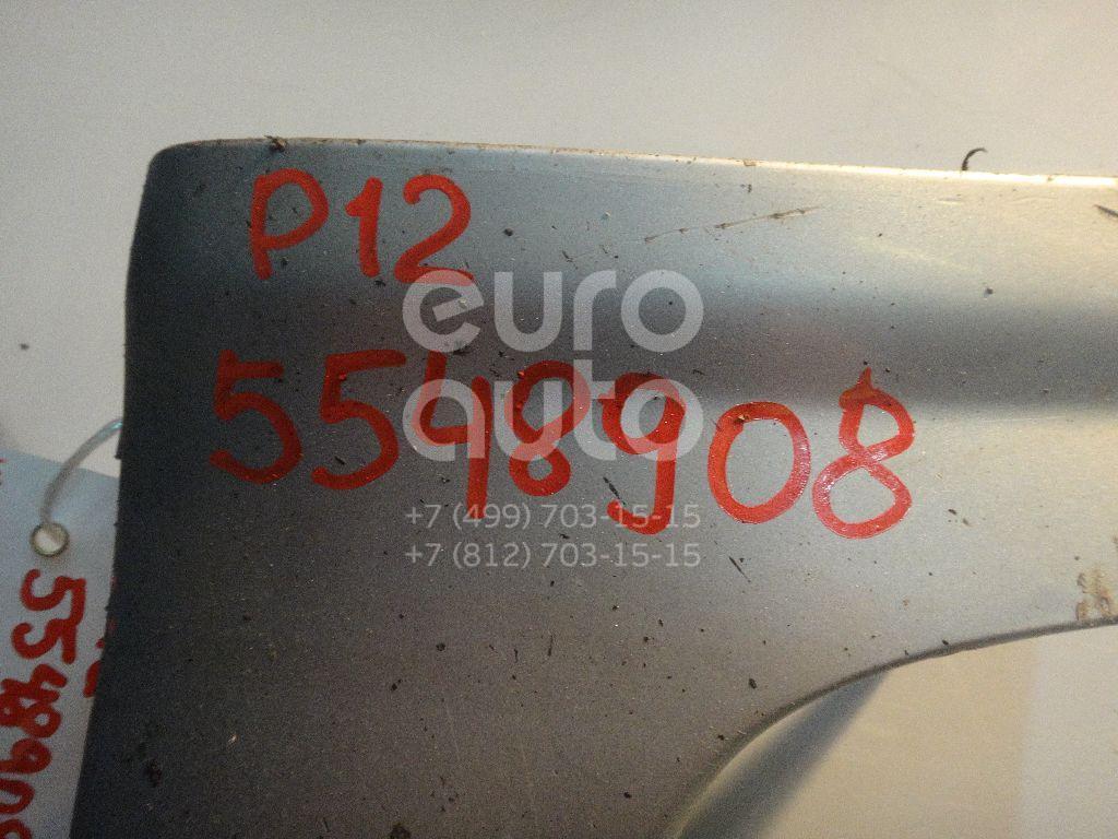 Накладка на порог (наружная) для Nissan Primera P12E 2002> - Фото №1
