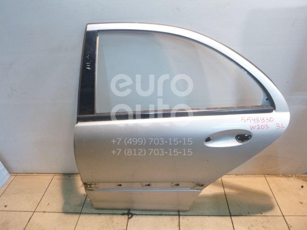 Дверь задняя левая для Mercedes Benz W203 2000-2006 - Фото №1