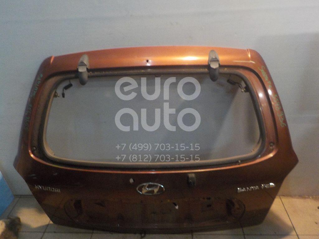 Дверь багажника для Hyundai Santa Fe (SM) 2000-2005 - Фото №1