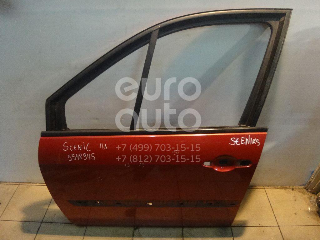 Дверь передняя левая для Renault Scenic 2003-2009 - Фото №1