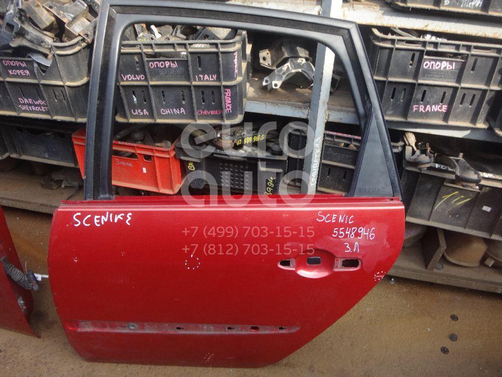 Дверь задняя левая для Renault Scenic 2003-2009 - Фото №1