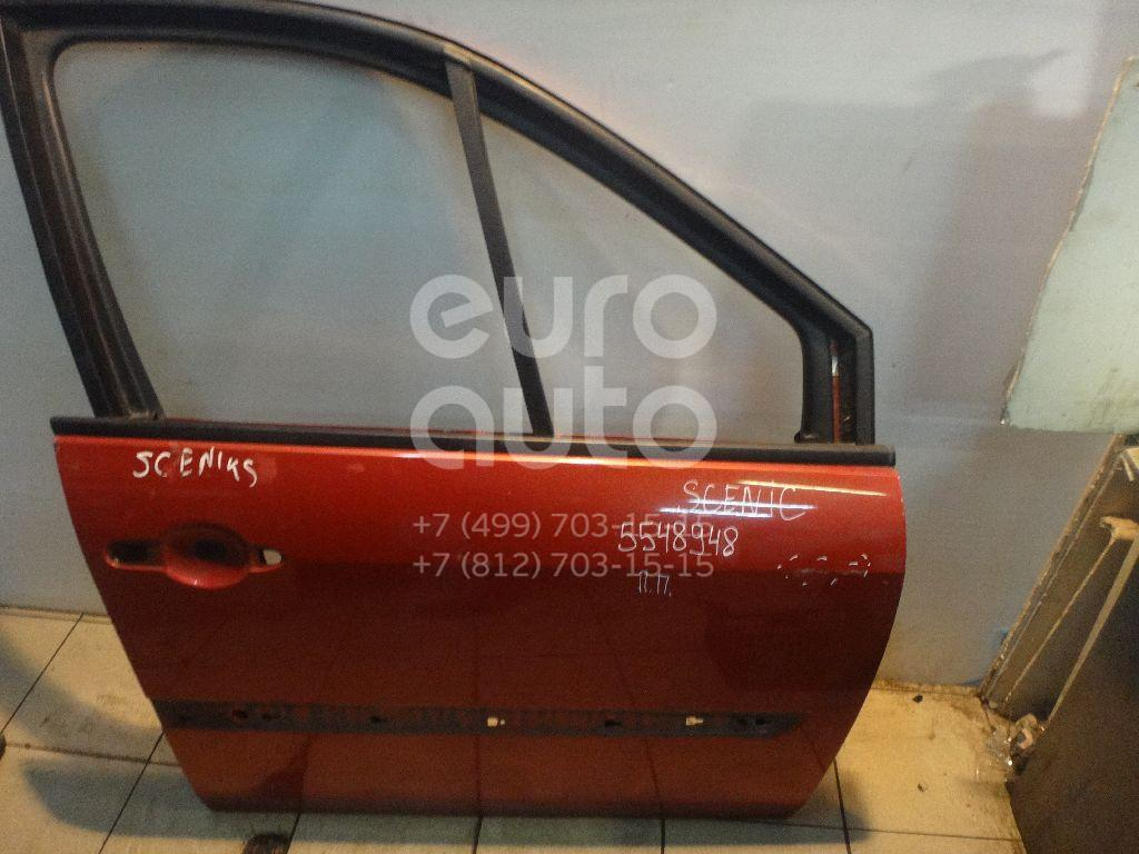 Дверь передняя правая для Renault Scenic II 2003-2009 - Фото №1