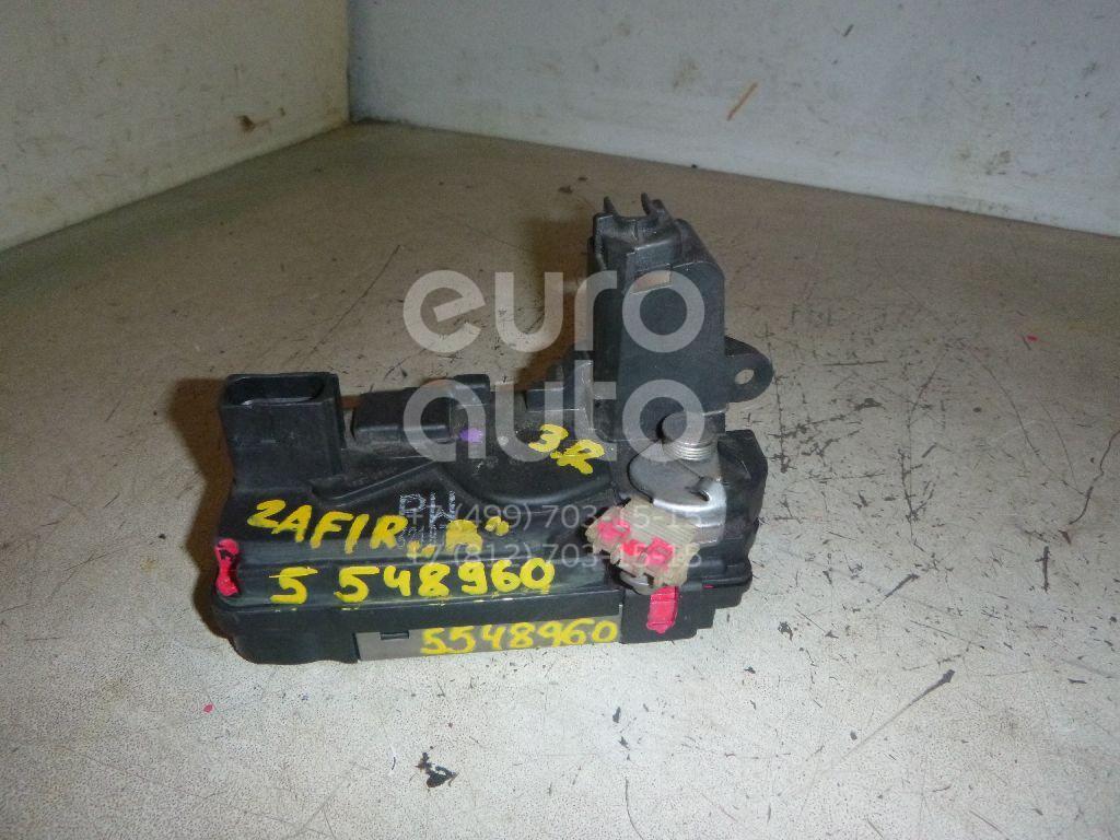 Замок двери задней правой для Opel Zafira B 2005-2012;Astra H / Family 2004-2015 - Фото №1