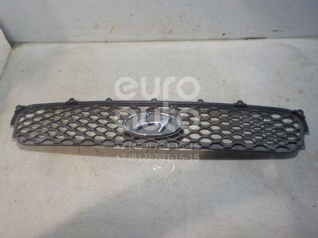 Решетка радиатора для Hyundai Santa Fe (SM) 2000-2005 - Фото №1