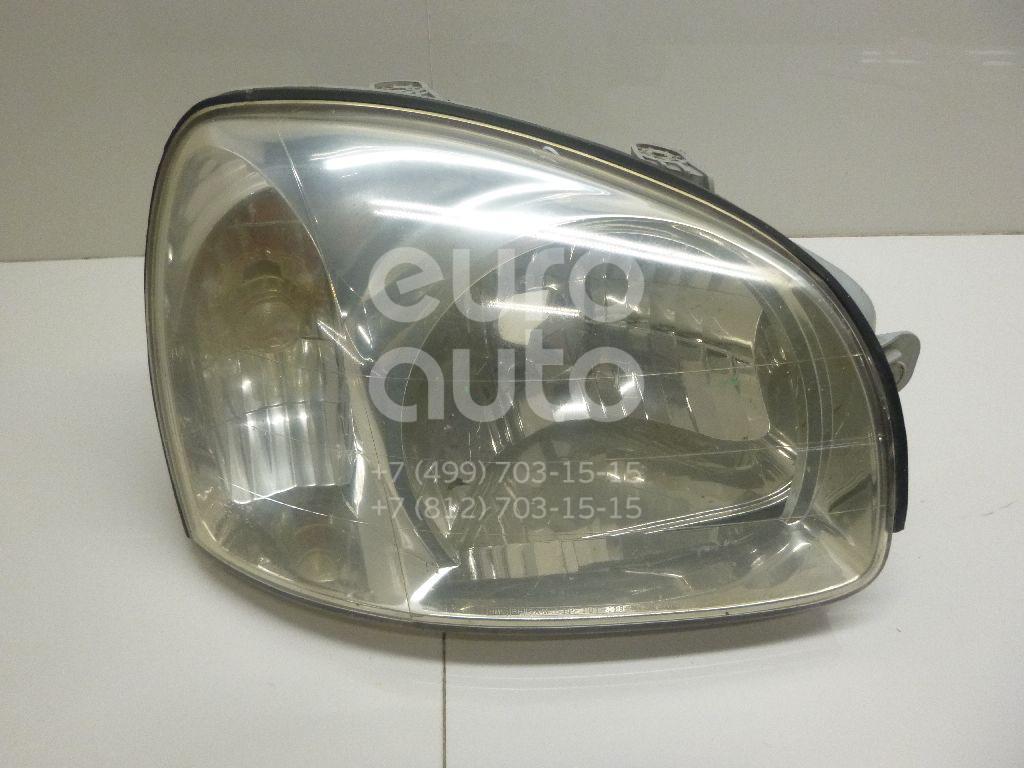 Фара правая для Hyundai Santa Fe (SM)/ Santa Fe Classic 2000-2012 - Фото №1