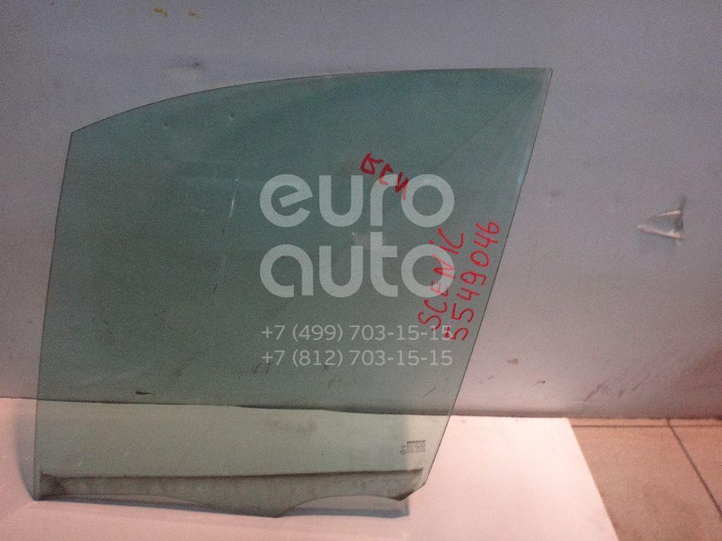 Стекло двери передней левой для Renault Scenic 2003-2009 - Фото №1