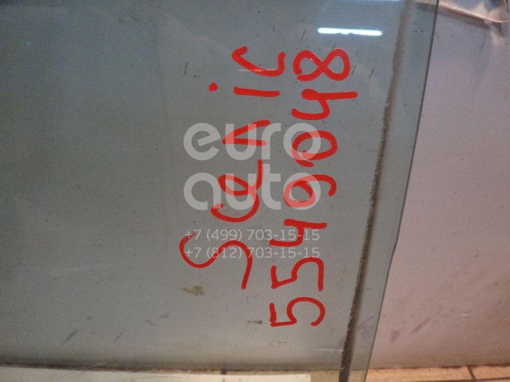 Стекло двери задней левой для Renault Scenic 2003-2009 - Фото №1