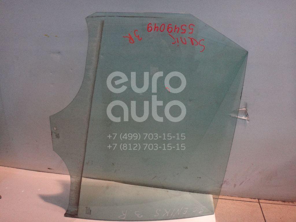 Стекло двери задней правой для Renault Scenic II 2003-2009 - Фото №1