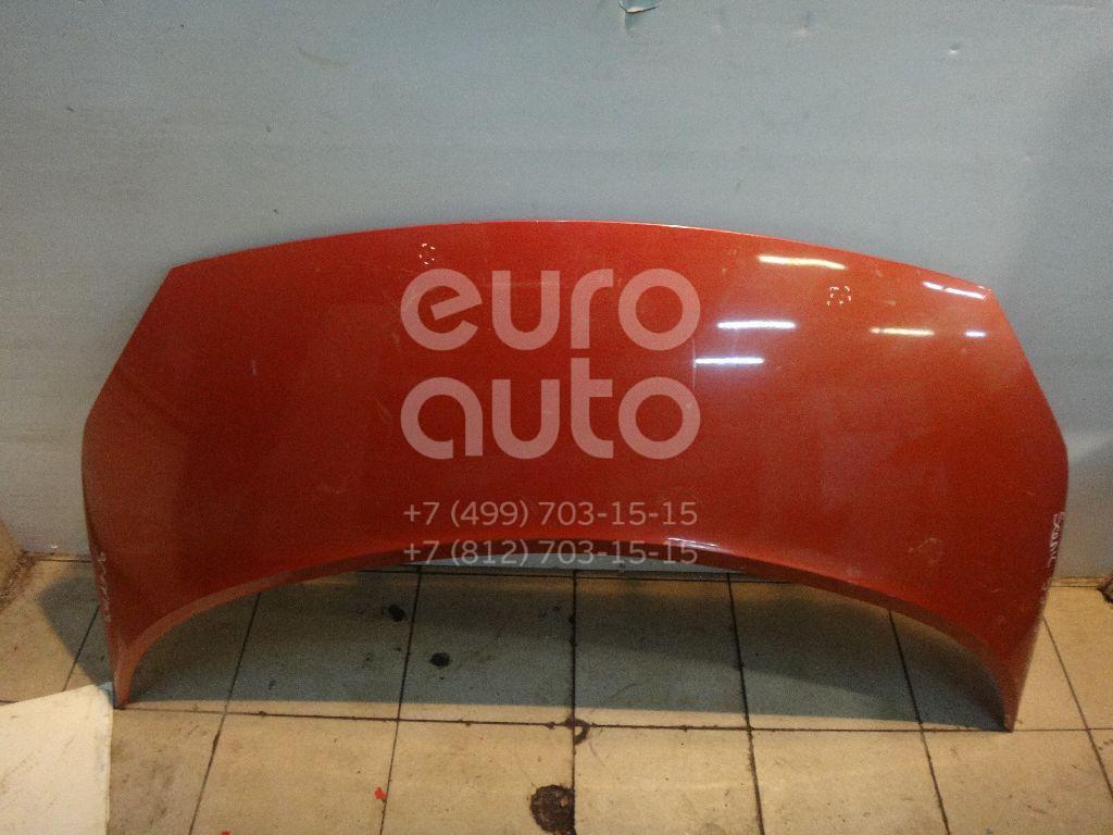 Капот для Renault Scenic 2003-2009 - Фото №1