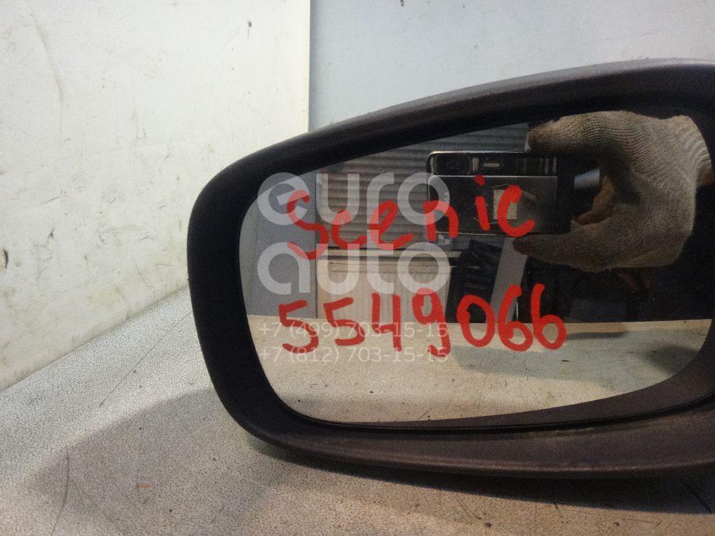 Зеркало левое электрическое для Renault Scenic 2003-2009 - Фото №1