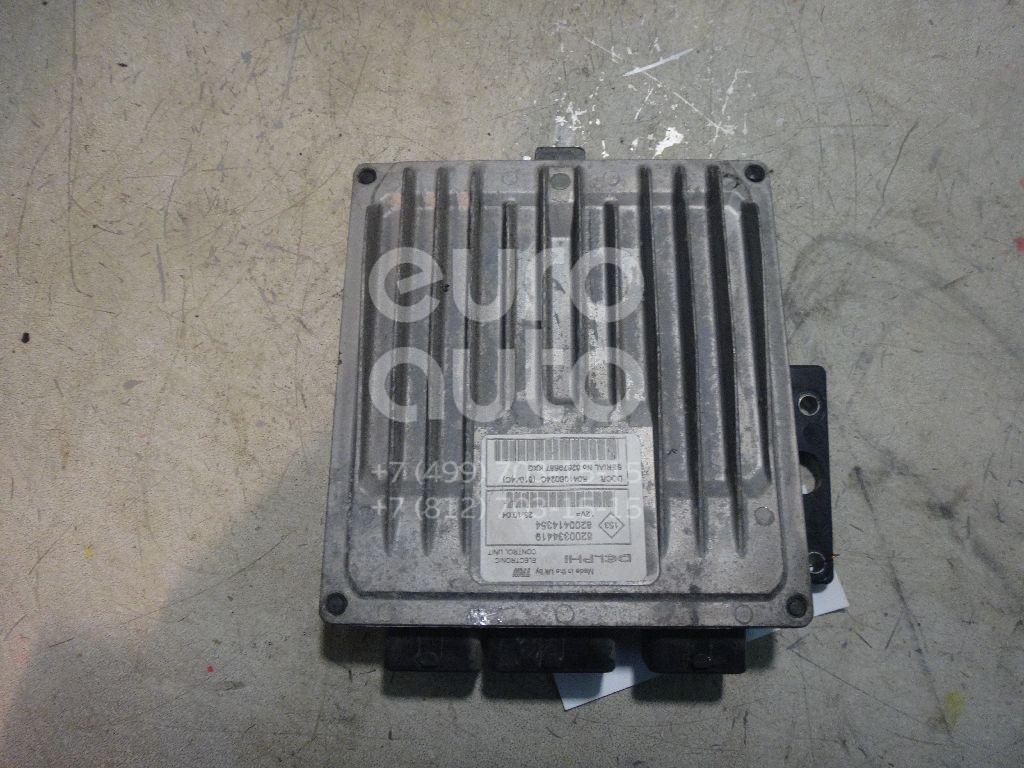 Блок управления двигателем для Nissan Scenic 2003-2009;Megane II 2002-2009;Micra (K12E) 2002> - Фото №1