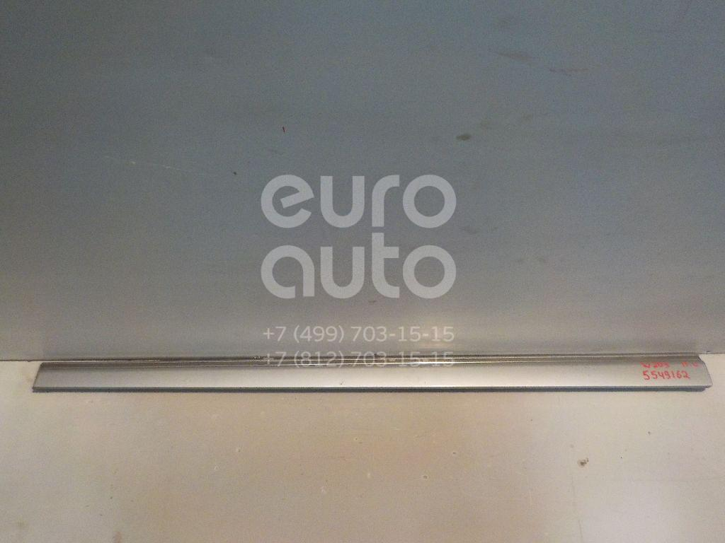 Молдинг передней левой двери для Mercedes Benz W203 2000-2006 - Фото №1