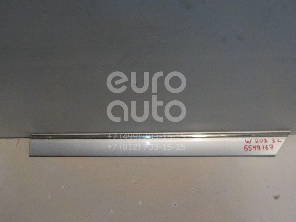 Молдинг задней левой двери для Mercedes Benz W203 2000-2006 - Фото №1