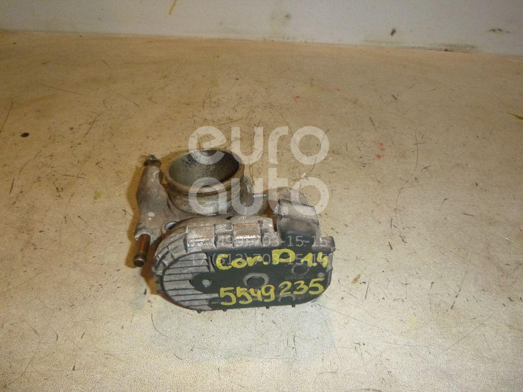 Заслонка дроссельная электрическая для Opel Corsa D 2006-2015;Astra G 1998-2005;Agila A 2000-2008;Astra H / Family 2004>;Meriva 2003-2010;Tigra TwinTop 2004>;Corsa C 2000-2006 - Фото №1