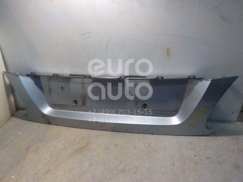 Накладка крышки багажника для Nissan Almera N16 2000-2006 - Фото №1