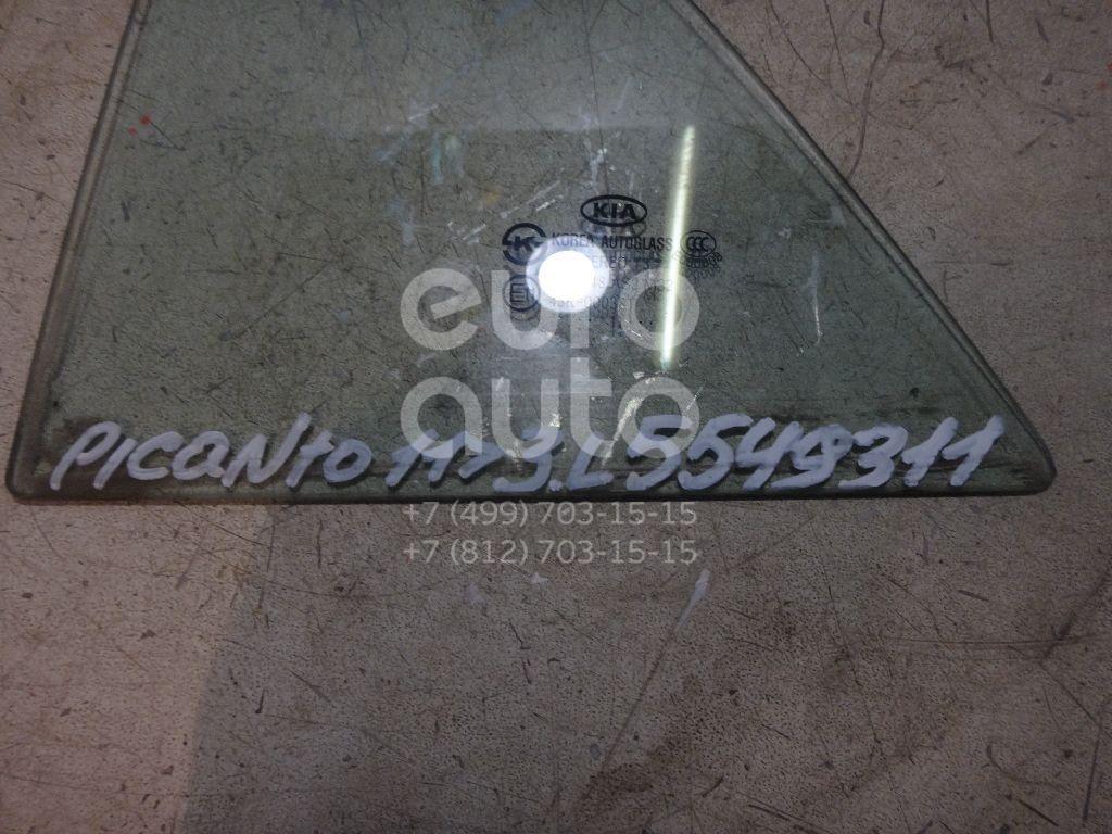 Стекло двери задней левой (форточка) для Kia Picanto 2011> - Фото №1