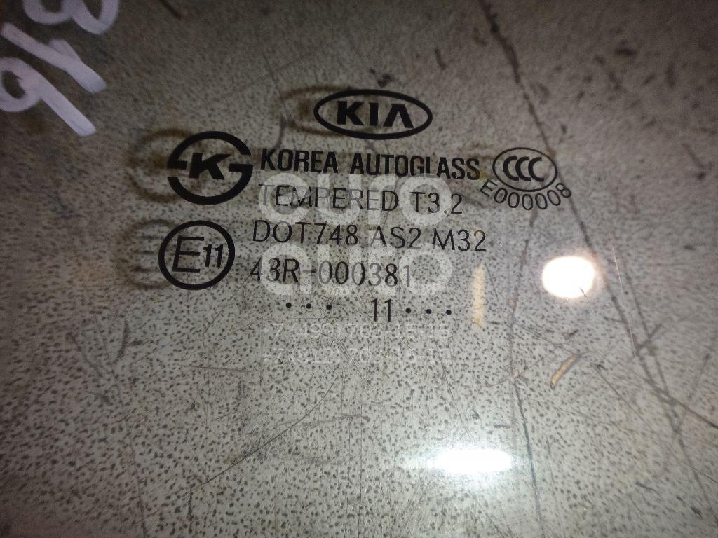 Стекло двери задней правой для Kia Picanto 2011> - Фото №1