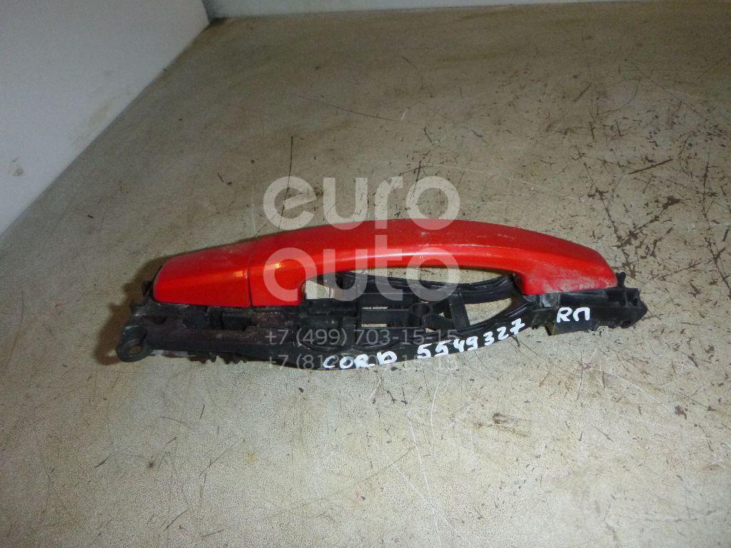 Ручка двери передней наружная правая для Opel Corsa D 2006> - Фото №1