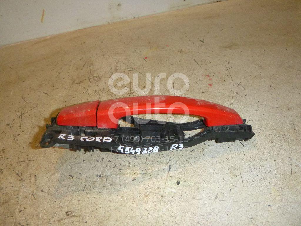 Ручка двери задней наружная правая для Opel Corsa D 2006-2015 - Фото №1