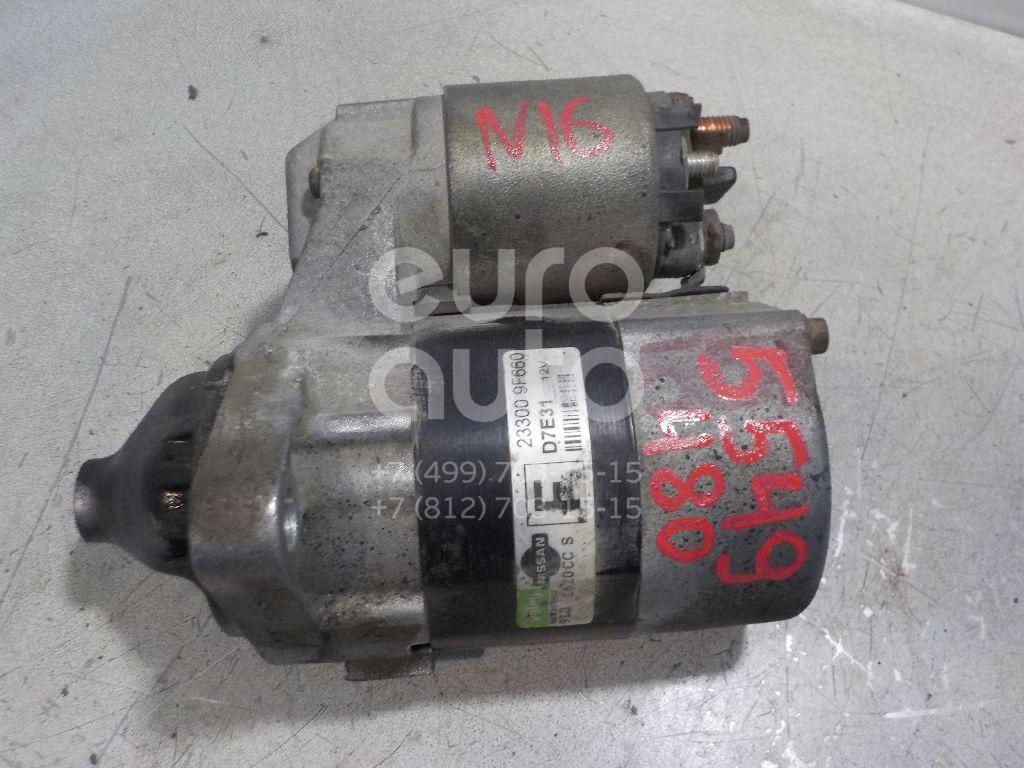 Стартер для Nissan Almera N16 2000-2006;Primera WP11E 1998-2001;Primera P11E 1996-2002;Almera Tino 2000-2006;Primera P12E 2002-2007 - Фото №1