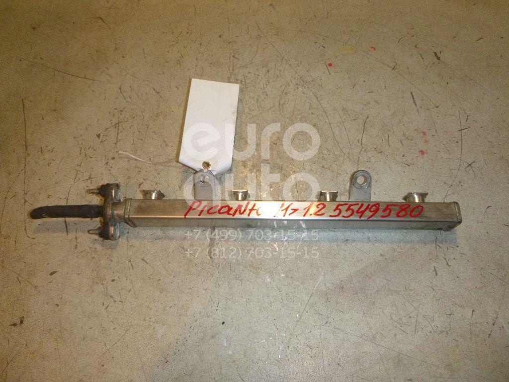 Рейка топливная (рампа) для Kia,Hyundai Picanto 2011>;i20 2008-2014;RIO 2011>;i10 2007-2013 - Фото №1