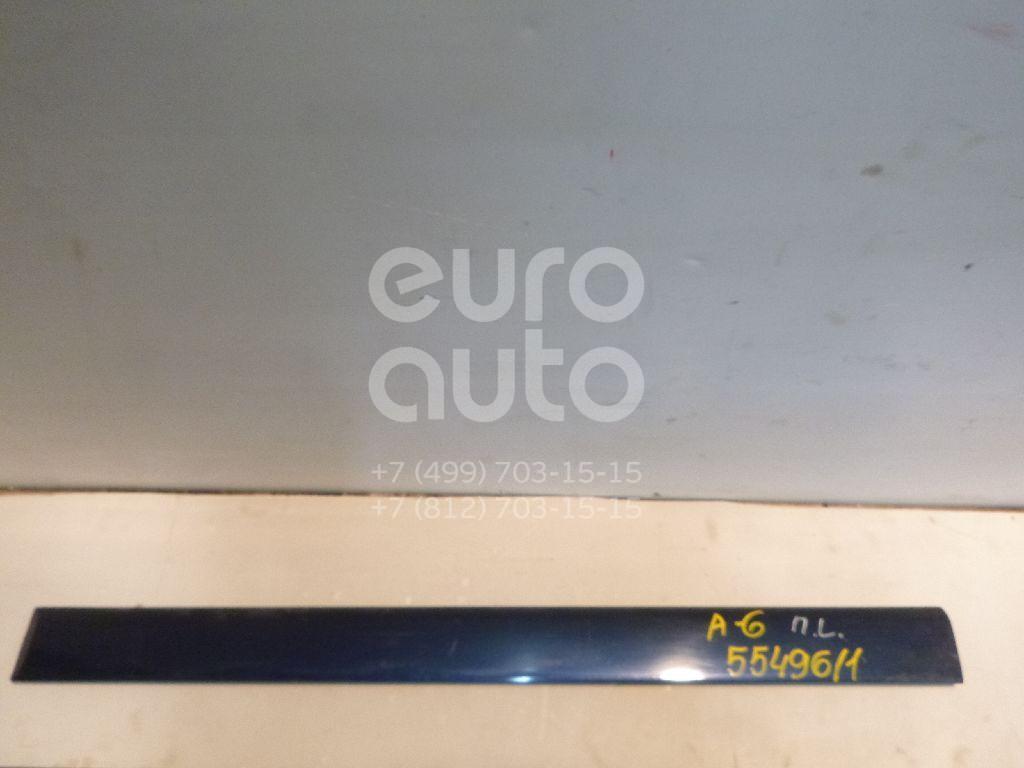 Молдинг передней левой двери для Audi A6 [C4] 1994-1997 - Фото №1