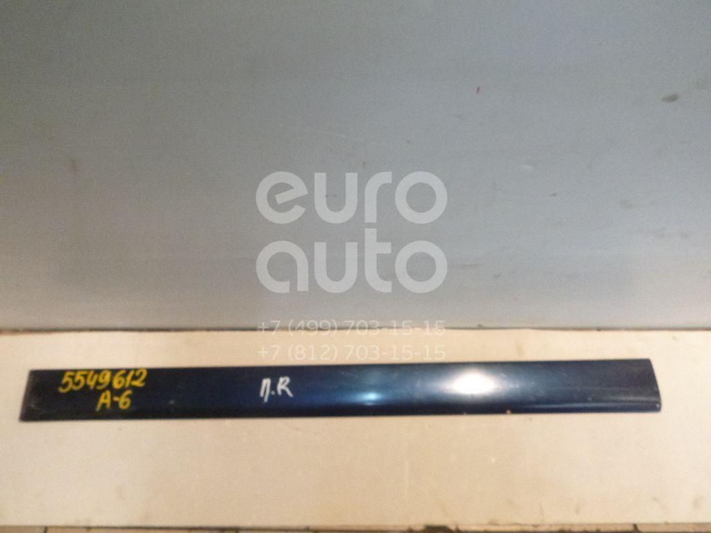 Молдинг передней правой двери для Audi A6 [C4] 1994-1997;100 [C4] 1991-1994 - Фото №1