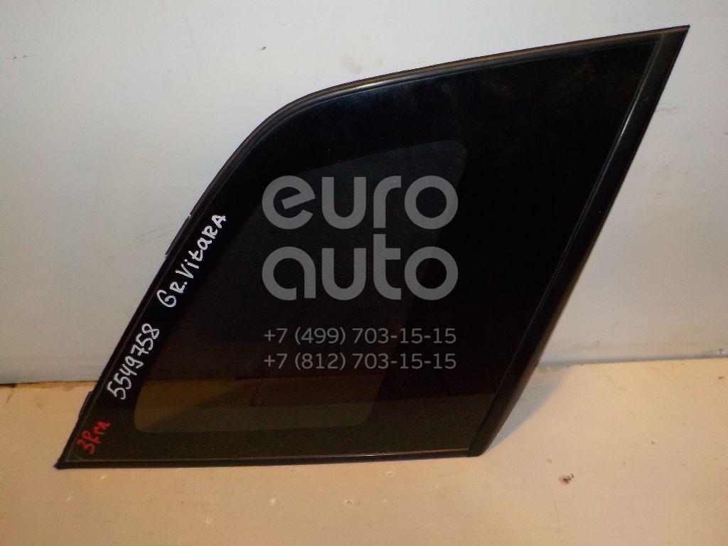 Стекло кузовное глухое правое для Suzuki Grand Vitara 2006-2015 - Фото №1