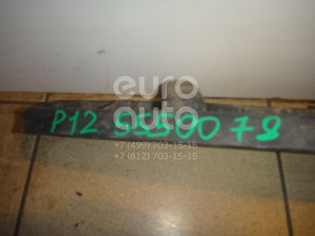 Пыльник двигателя центральный для Nissan Primera P12E 2002-2007 - Фото №1