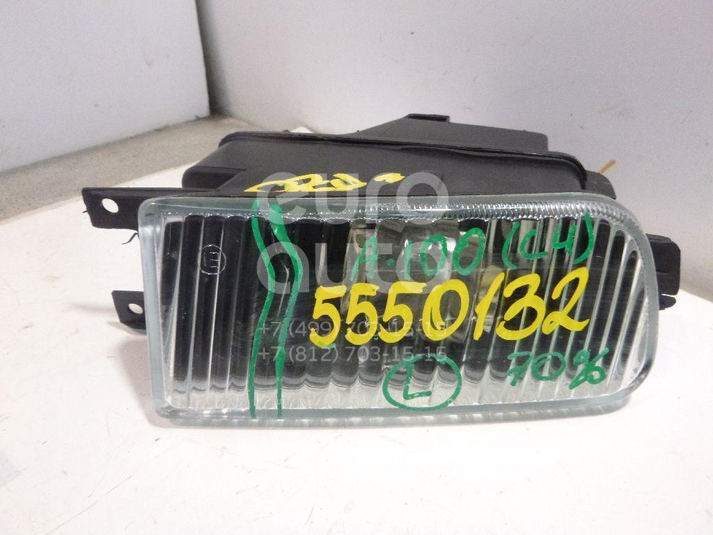 Фара противотуманная левая для Audi 100 [C4] 1991-1994 - Фото №1