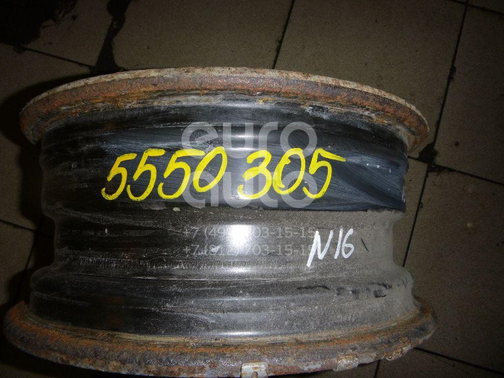 Диск колесный железо для Nissan Almera N16 2000-2006;Primera WP11E 1998-2001;Primera P11E 1996-2002 - Фото №1