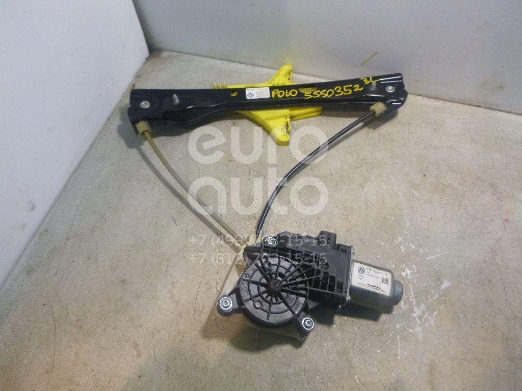 Стеклоподъемник электр. задний левый для VW Polo (Sed RUS) 2011> - Фото №1