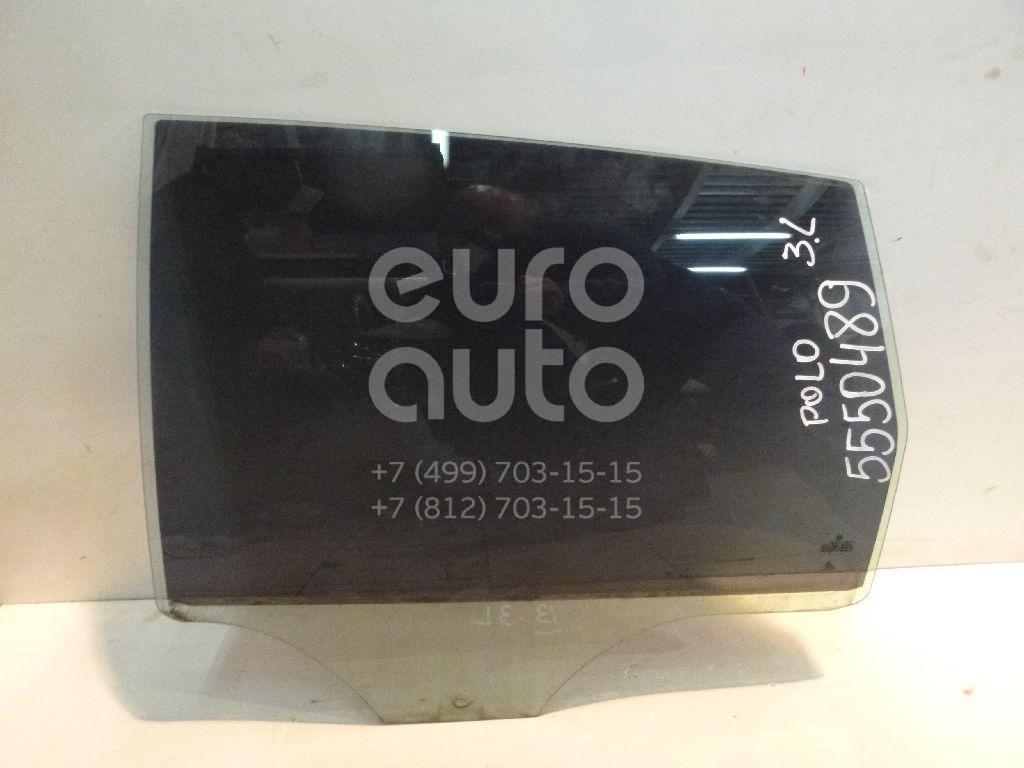 Стекло двери задней левой для VW Polo 2001-2009;Polo 1999-2001 - Фото №1