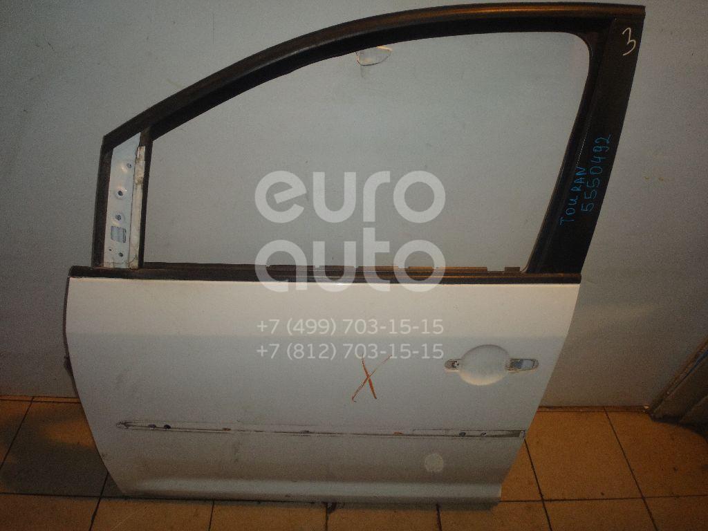 Дверь передняя левая для VW Touran 2003-2010 - Фото №1