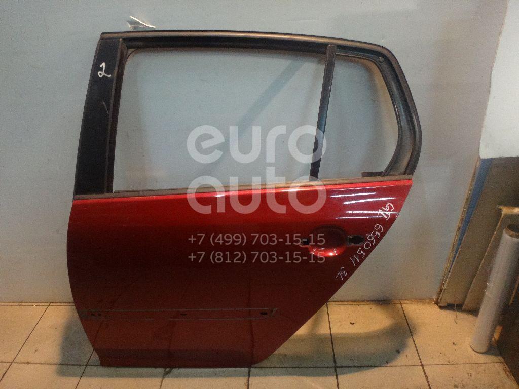 Дверь задняя левая для VW Golf V 2003-2009 - Фото №1