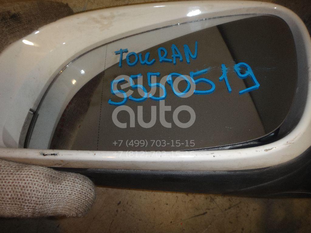 Зеркало левое электрическое для VW Touran 2003-2010 - Фото №1