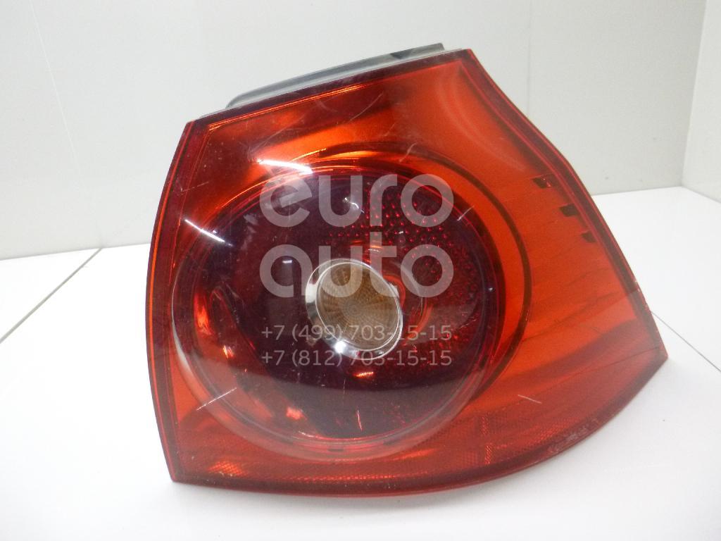Фонарь задний наружный правый для VW Golf V 2003-2009 - Фото №1