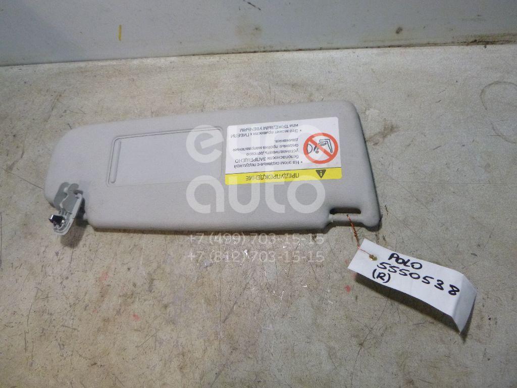 Козырек солнцезащитный (внутри) для VW Polo (Sed RUS) 2011> - Фото №1