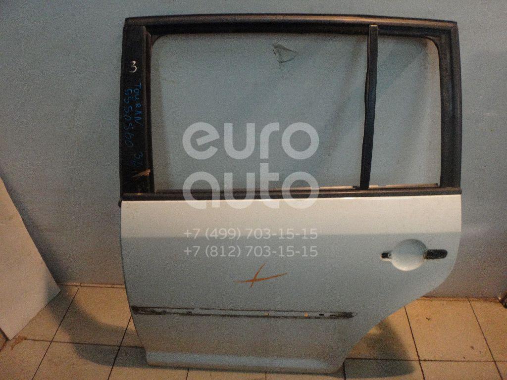 Дверь задняя левая для VW Touran 2003-2010 - Фото №1
