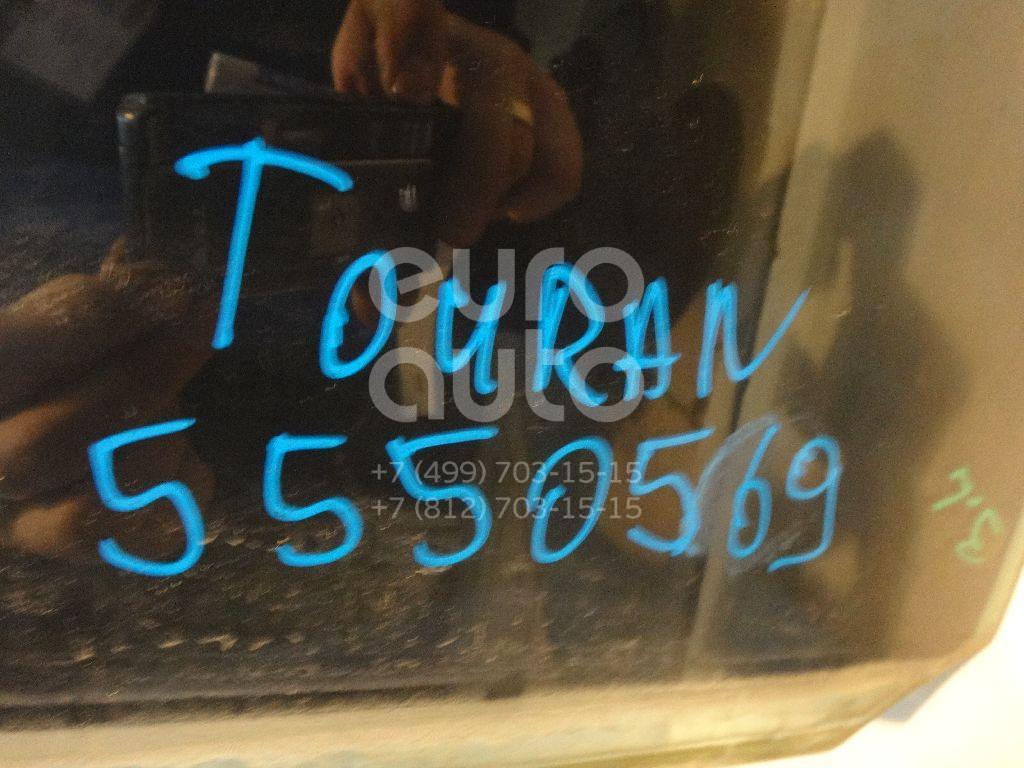 Стекло двери задней левой (форточка) для VW Touran 2003-2010 - Фото №1