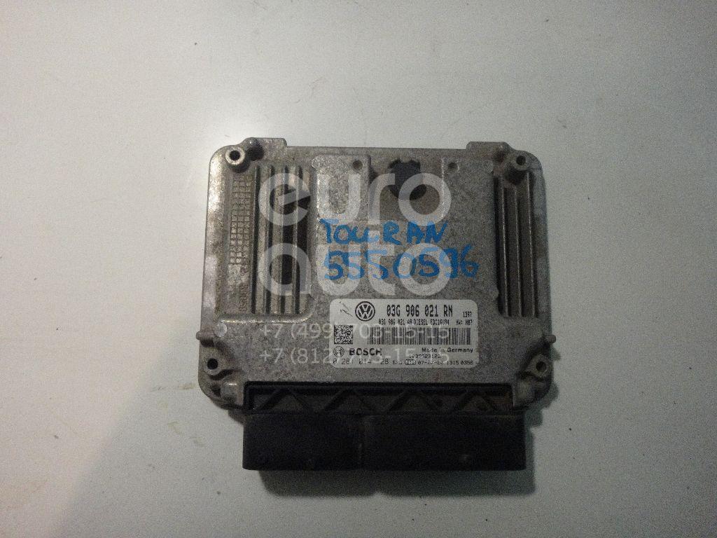 Блок управления двигателем для VW Touran 2003-2010 - Фото №1