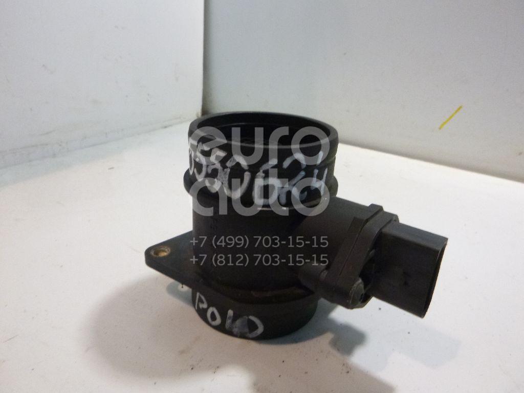 Расходомер воздуха (массметр) для VW,Audi,Skoda,Seat Polo 2001-2009;A3 (8L1) 1996-2003;A4 [B6] 2000-2004;Octavia (A5 1Z-) 2004-2013;Cordoba 2003-2008;Ibiza IV 2002-2008 - Фото №1